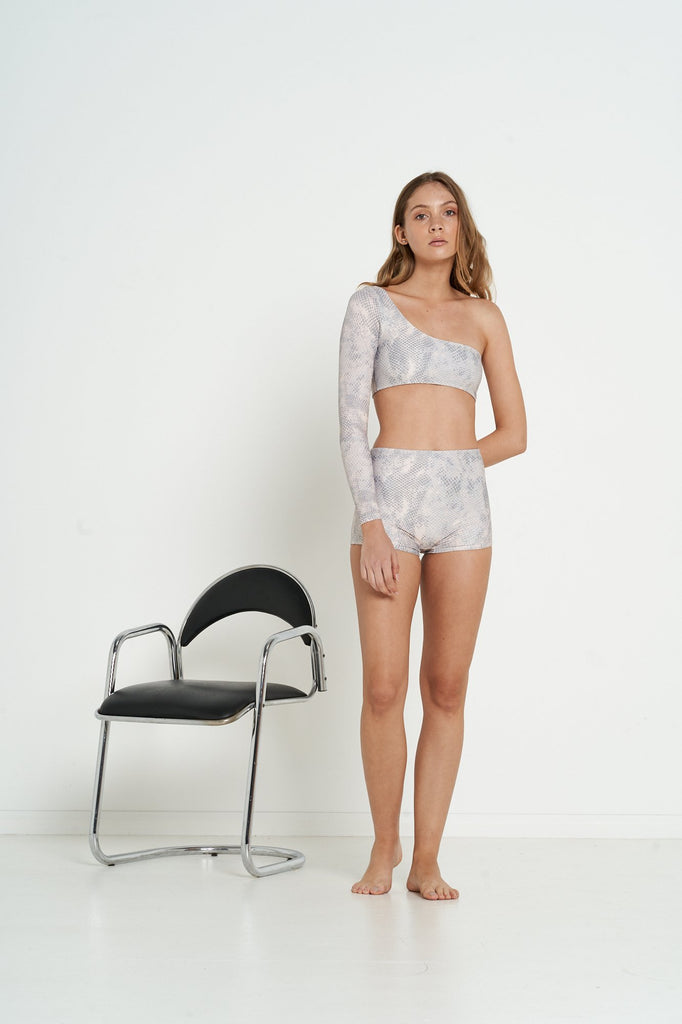 Peloton Bottoms - Nude Snake - Eco