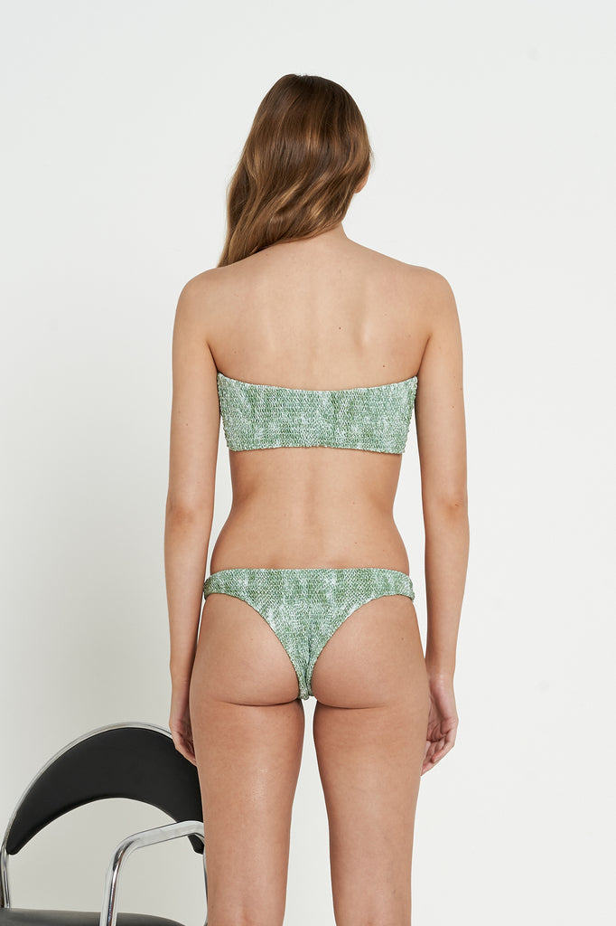 Oceania Bottoms | Olive Snake - Eco