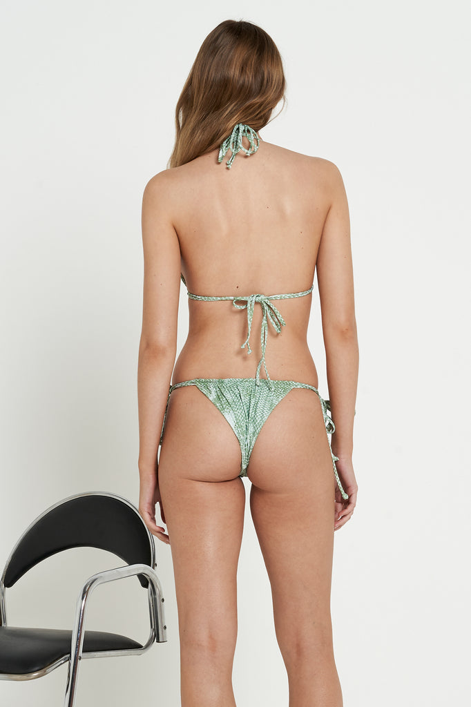 Conch Bottoms | Olive Snake - Eco