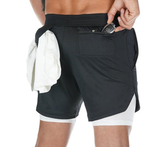 Luxo Lined Gym Shorts
