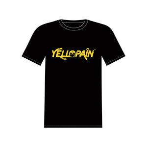 Yellopain Logo Tee Black T-Shirt