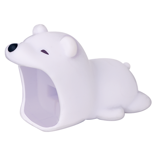 GIANT Polar Bear Charger Pet Cube