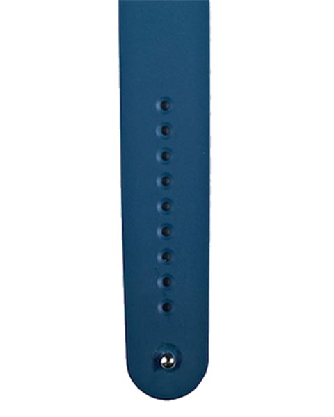 Blue FKM Rubber Strap