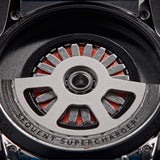 SuperCharger 2.1 - Premium - Snow White - Tide black/orange