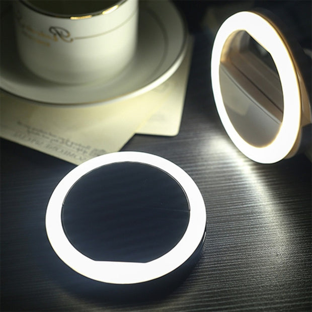 Universal Selfie LED Ring Flash Light Portable Mobile Phone