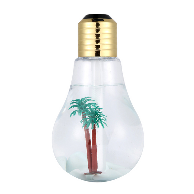 LED Lamp Air Ultrasonic Humidifier