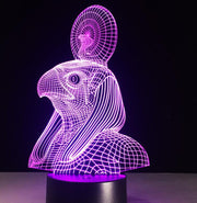 Egypt Anubis 3D Lamp LED Night