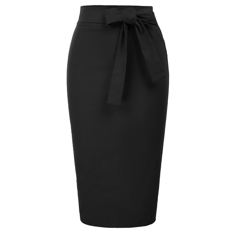 """Cupid's Bow"" Blaque Pencil Skirt"