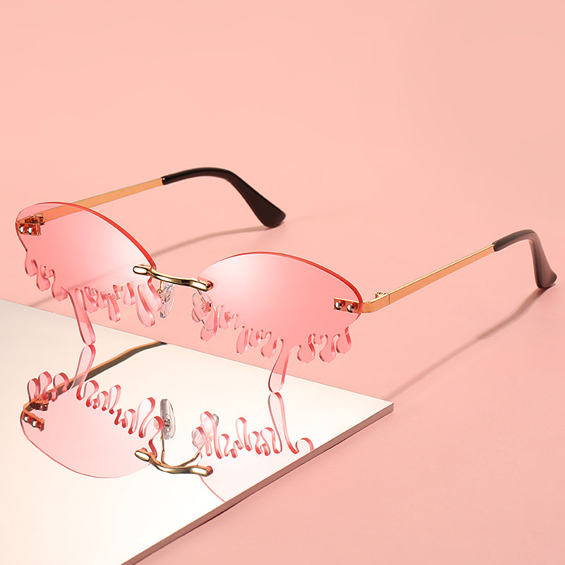 Pink-A-Boo! - Drip Sunglasses