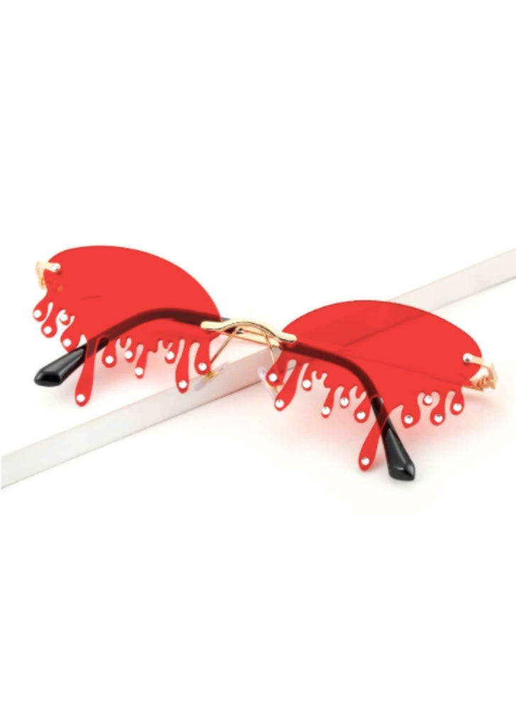 Glampire Red - Drip Sunglasses