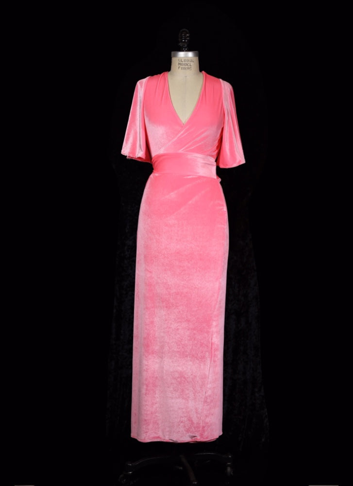 Think Pink! - Harlow Wrap Dress