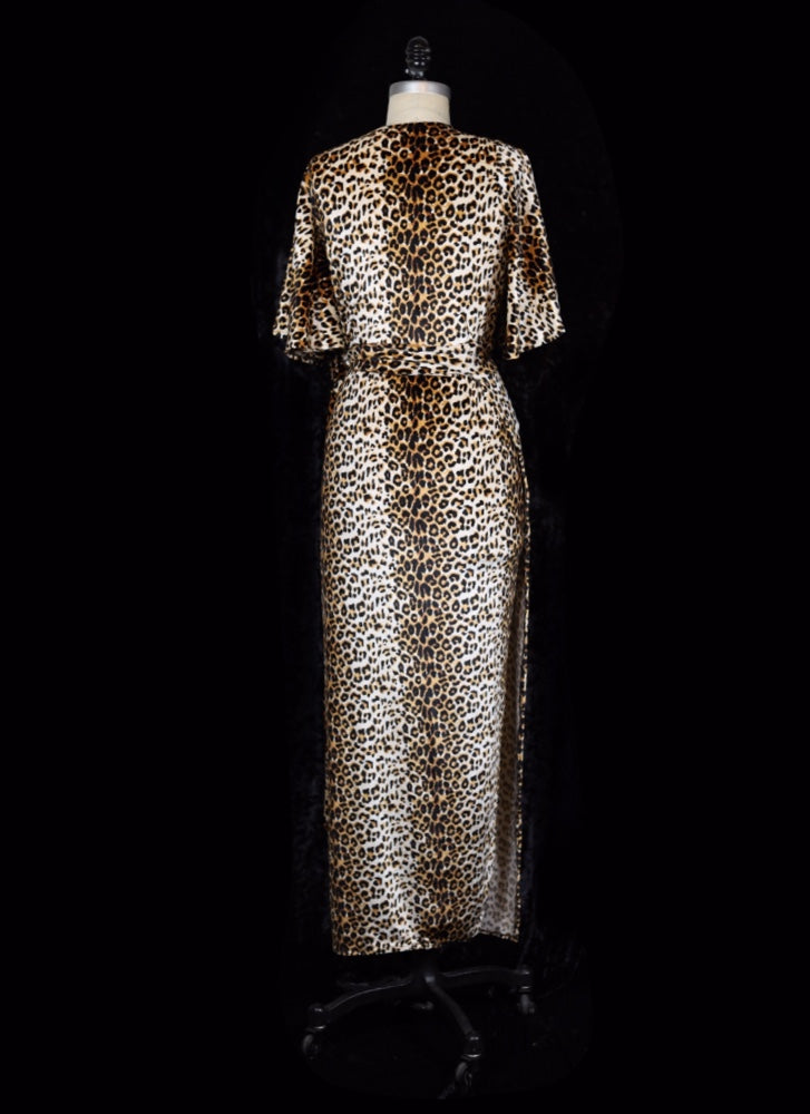 Wild Thing! Leopard - Harlow Wrap Dress