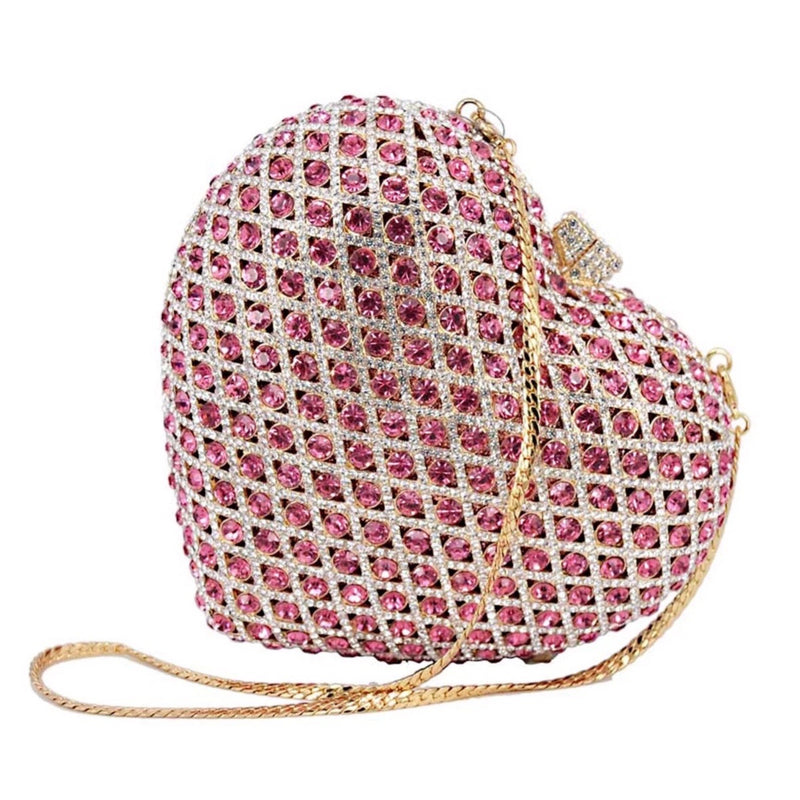 """Be My Valentine"" Crystal Clutch"