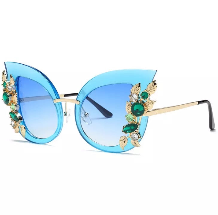 Miss Kitty Blue Eyewear