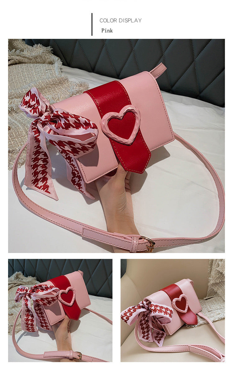"'You're So Cupid"" Crossbody Bag"