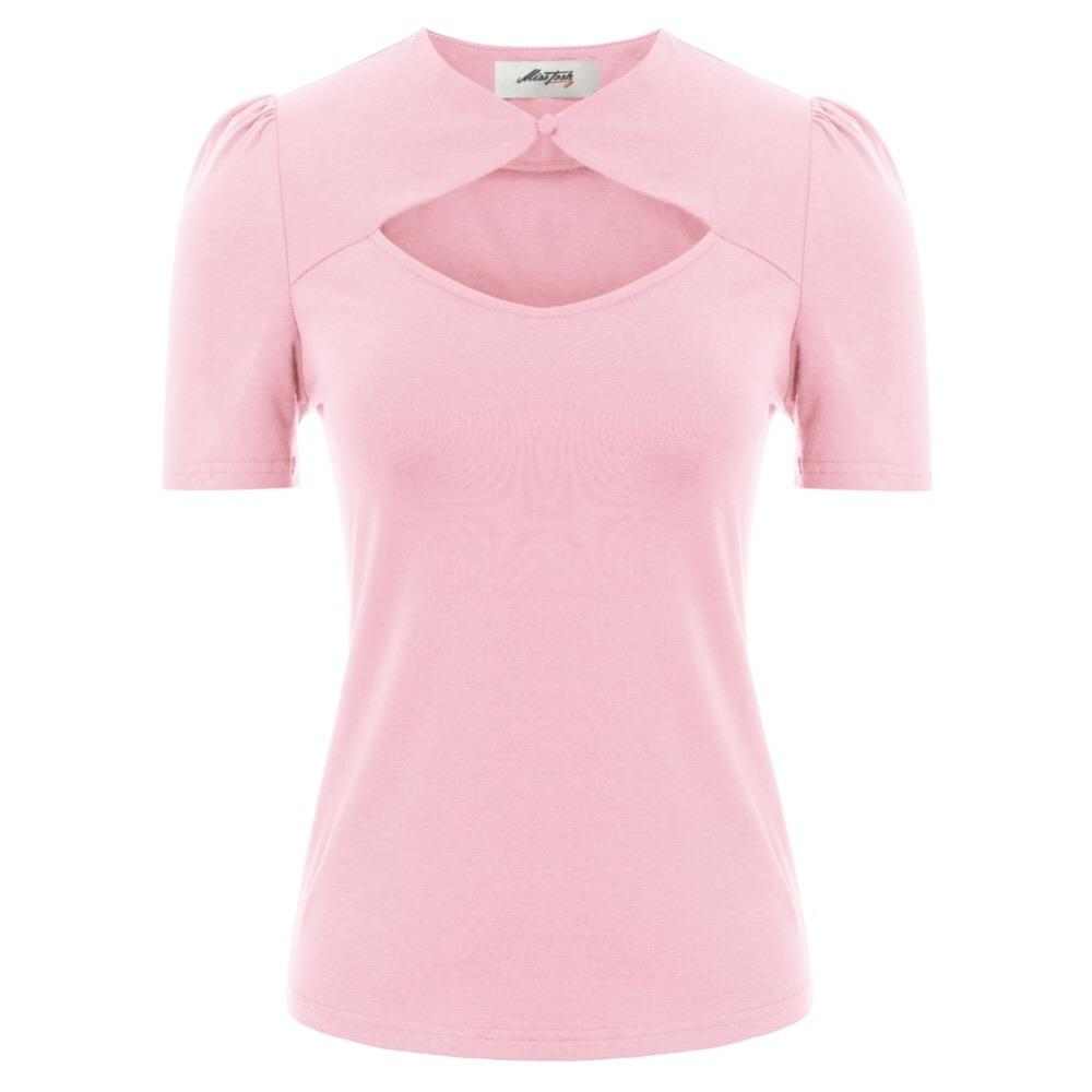 """Tryst"" Pink Blouse"