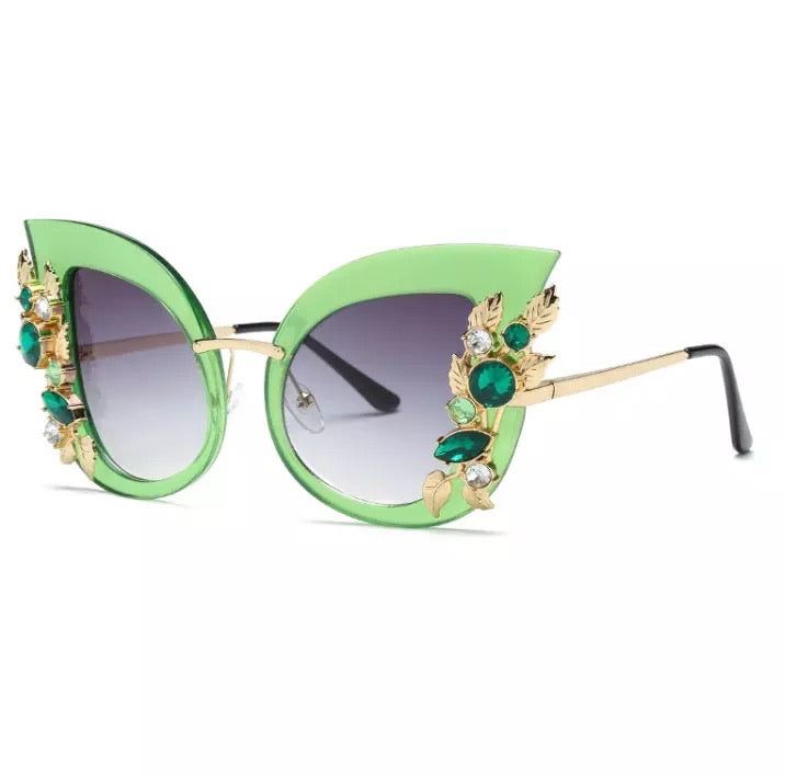 Miss Kitty Green Eyewear