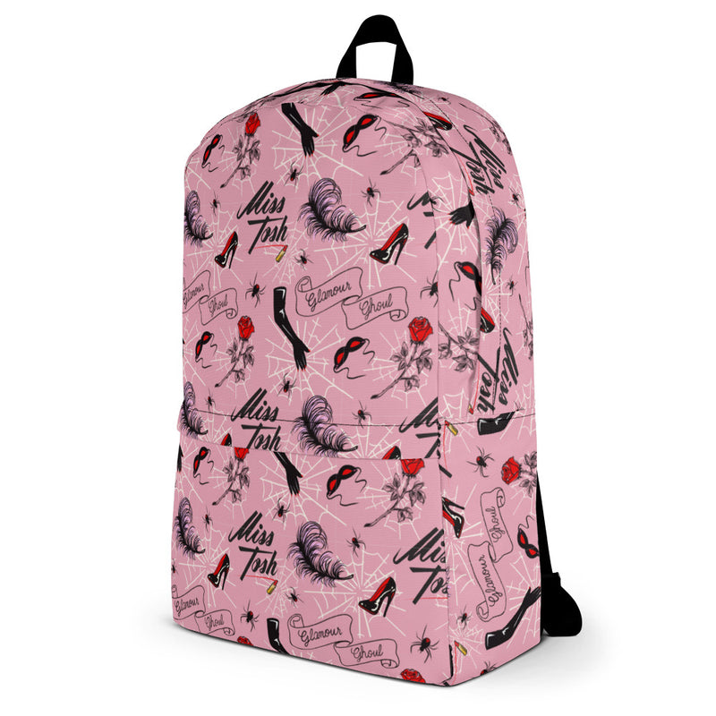 Glamour Ghoul Print Backpack