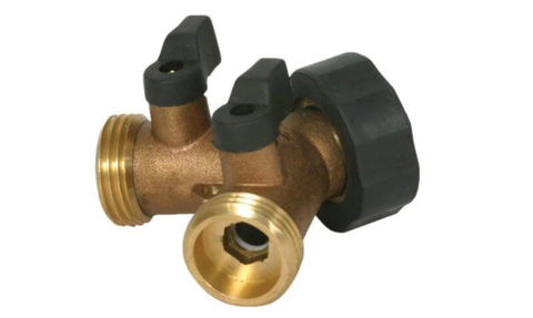 """Product images for the """"Y"""" Valve by Garden Tower Project"""