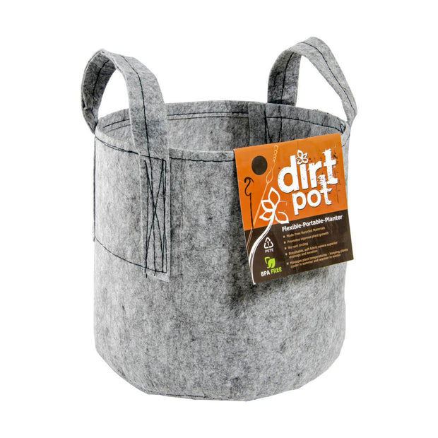 5 Gallon Fabric Dirt Pot with Handle