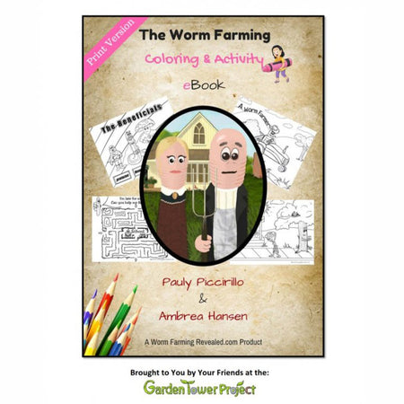 The Worm Farming Coloring & Activity eBook