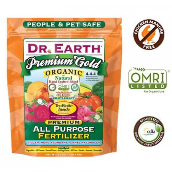 Dr. Earth 706P Organic All Purpose Plant Food