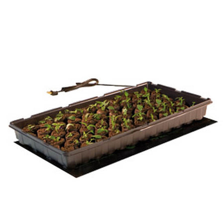 Seedling Flat Heating Mat: 17 Watt, 9 x 19.5″