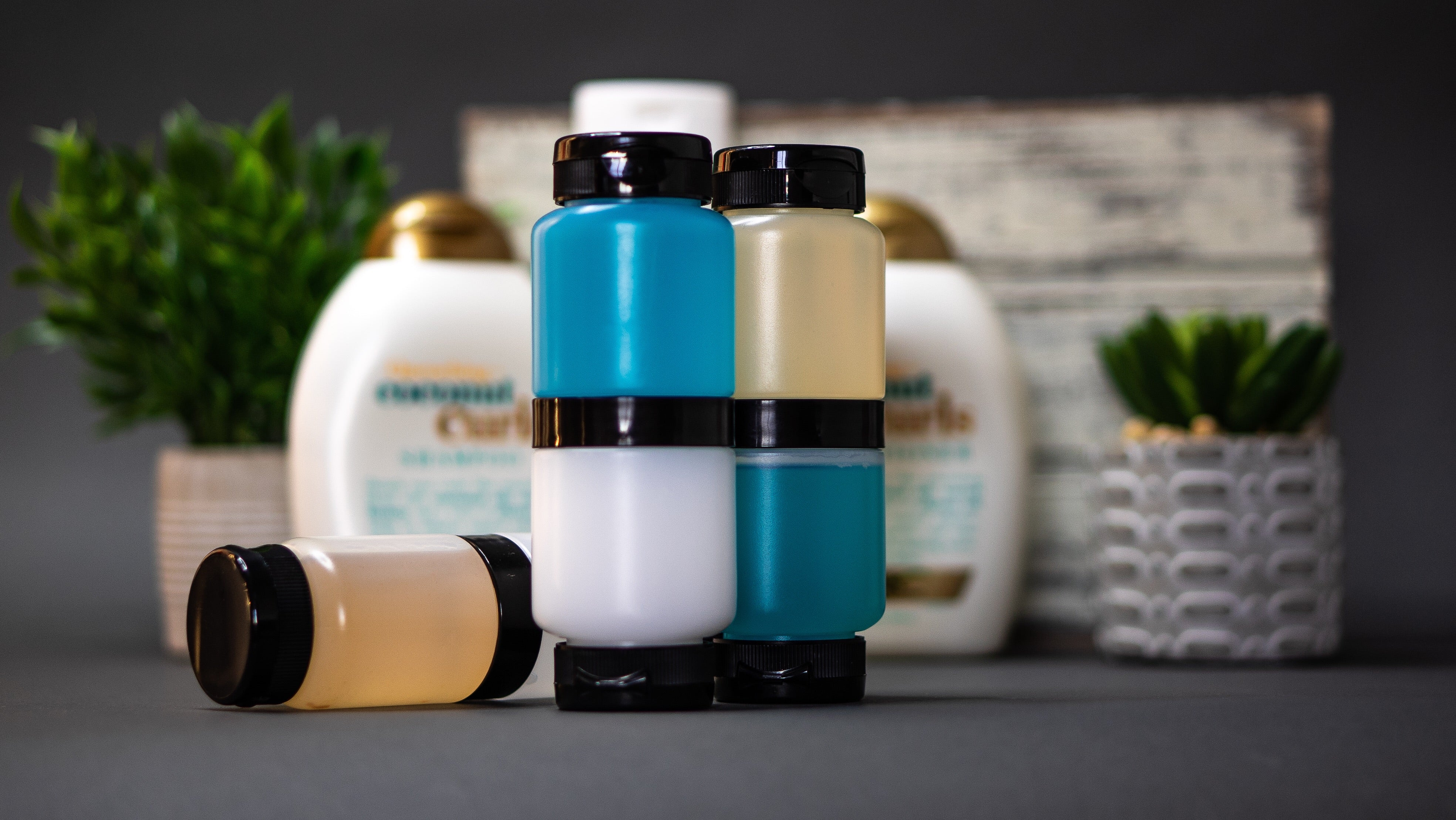 The Duet Bottle (3 PACK with Travel Case)