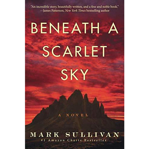 Beneath a Scarlet Sky: A Novel - the cozzee project