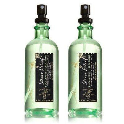 Stress Relief Eucalyptus Spearmint Pillow Mist - the cozzee project