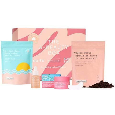 A-Beauty Box Skin Care Set - the cozzee project