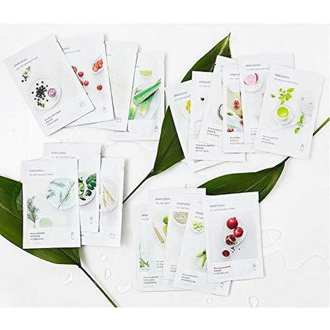 Innisfree My Real Squeeze Mask Sheets | 18 Scents - the cozzee project