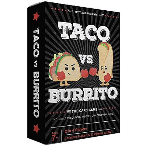 Taco vs Burrito | Strategic Card Game - the cozzee project