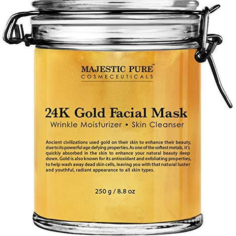 Gold Facial Mask - the cozzee project