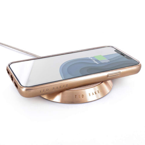 Ted Baker Luxury Wireless Charger | Real Leather - the cozzee project