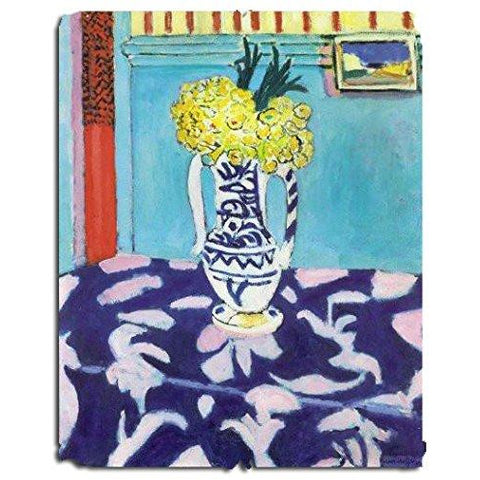 Henri Matisse Flowers | 166 Pieces Wooden Puzzle - the cozzee project