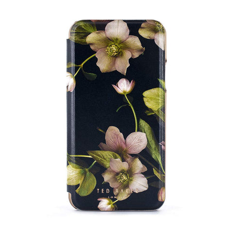 Ted Baker Fashion Mirror Folio Case for iPhone XR | Arboretum - the cozzee project