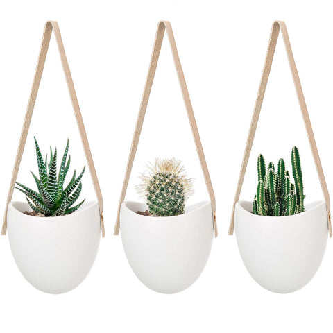 Ceramic Hanging Planter - the cozzee project