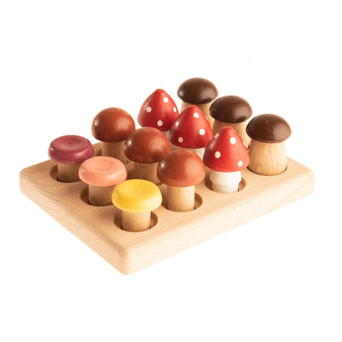 The Wooden Mushroom Educational Game - the cozzee project