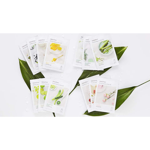 Innisfree It's Real Squeeze Mask Sheet | 16 sheets - the cozzee project