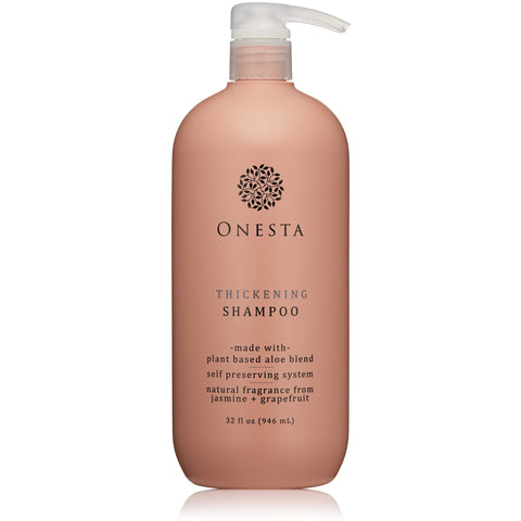Onesta Hair Care Thickening Shampoo - the cozzee project