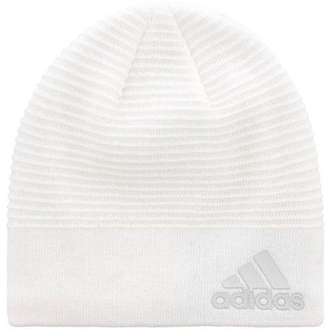 adidas Women's Creator Beanie | White - the cozzee project
