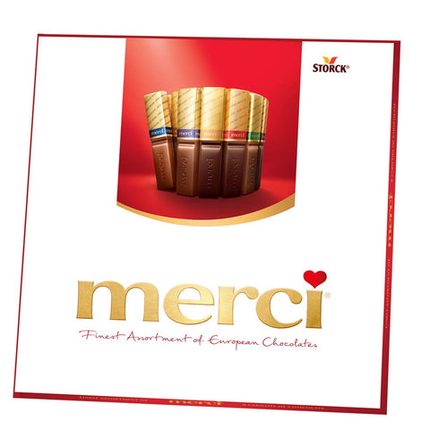 MERCI Finest Assortment of European Chocolate Candy - the cozzee project