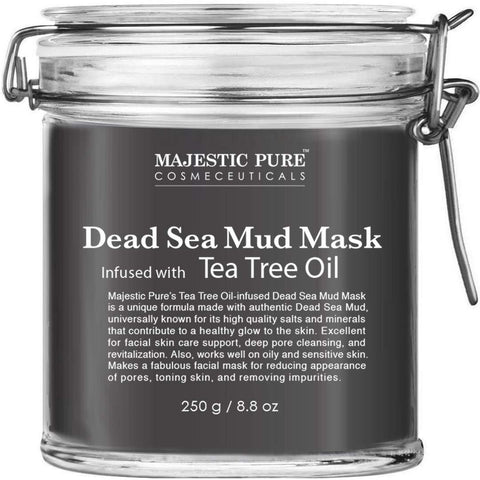 Dead Sea Mud Mask Infused With Tea Tree Oil - the cozzee project