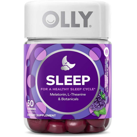 OLLY Sleep Melatonin Gummies - the cozzee project