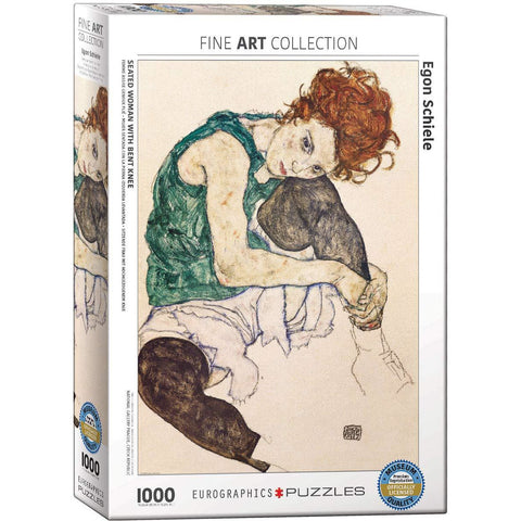 The Artist's Wife by Egon Schiele Puzzle | 1000 Pieces - the cozzee project