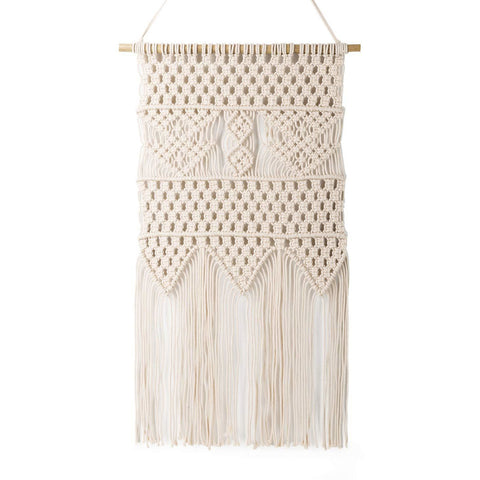 Macrame Wall Hanging Tapestry - the cozzee project
