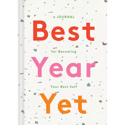 Best Year Yet: A Journal for Becoming Your Best Self - the cozzee project