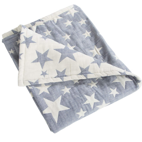 3 Layer Jacquard Toddler Throw - the cozzee project