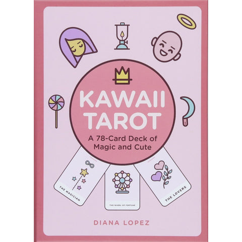 Kawaii Tarot: A 78-Card Deck of Magic and Cute - the cozzee project
